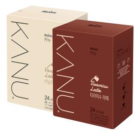 KANU Vanilla Latte 24 Sticks+Tiramisu 24 Sticks