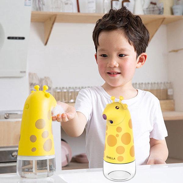 기린 자동 세제 디스펜서 물비누 거품비누 손세정제 상품이미지