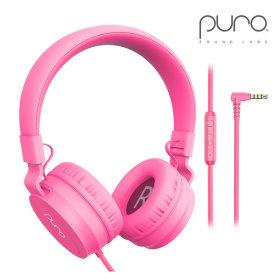 Puro Basic 청력보호 헤드폰 어린이 헤드셋 /핑크