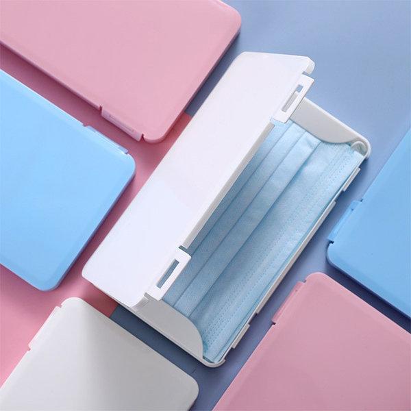 아르세 휴대용 마스크 보관 하드케이스 파우치 블루 상품이미지