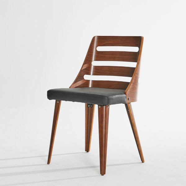 TT020 가죽 체어 카페 레스토랑 인테리어 원목의자 상품이미지