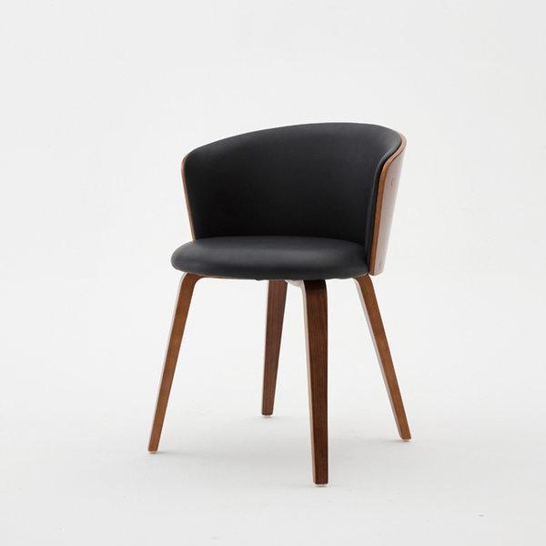 TT014 가죽 체어 카페 레스토랑 인테리어 원목의자 상품이미지
