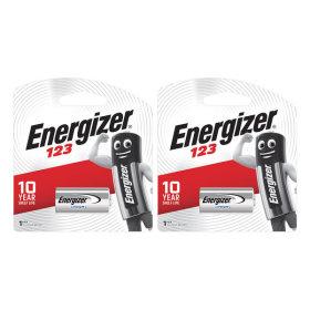 에너자이저 포토리튬 건전지 CR123 1입x2개