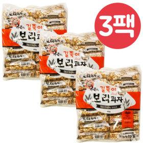엉클팝 길쭉이 보리과자 400gX3봉/보리과자/뻥튀기