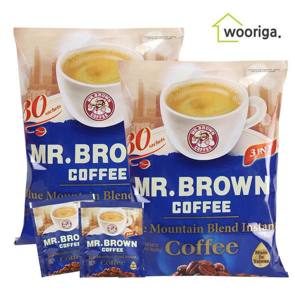 대만미스터브라운 블루마운틴 커피 30입 2봉 커피믹스 상품이미지