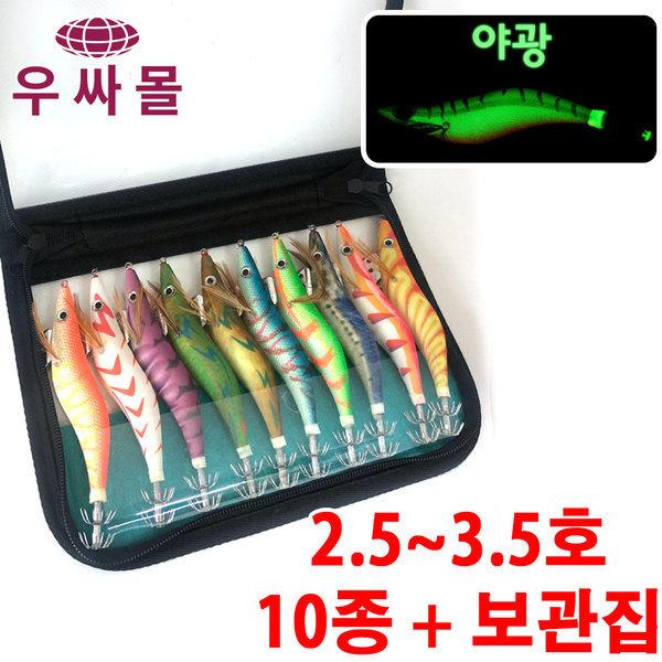 문어 한치 갑오징어 쭈꾸미 낚시 채비 에기 이카메탈 상품이미지