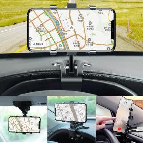 OMT 차량용 계기판 선바이저 핸드폰 거치대 OSA-H8