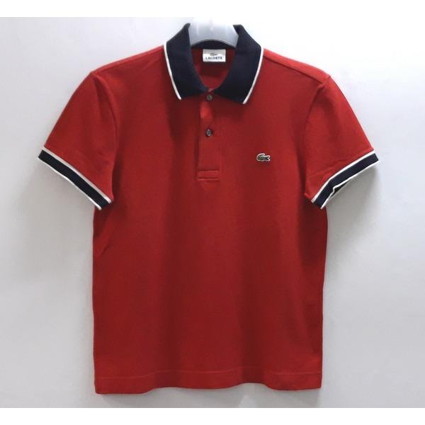 라코스테 카라넥 면스판 반팔 티셔츠 95/중고 상품이미지