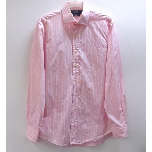 폴로 스트 면 드레스 셔츠 110/빅사이즈/중고 상품이미지