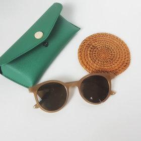 주니어선글라스 UV400자외선차단 썬글라스 코코아색상