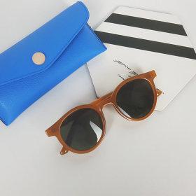 어린이선글라스 여행용필수 자외선차단 오렌지색상