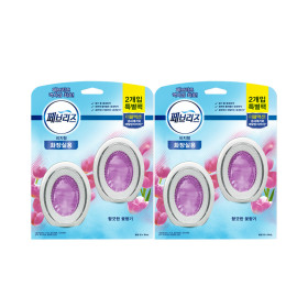 페브리즈 화장실용 비치형 향긋한 꽃향기 6mlx4개