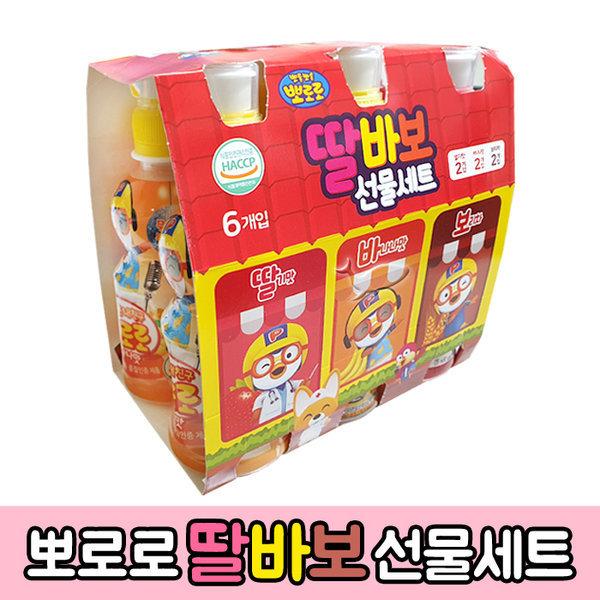 뽀로로 딸바보(24개)/1BOX (딸기+바나나+보리차)세트 상품이미지