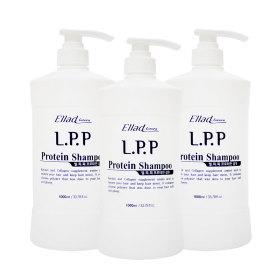 오로라 LPP 프로테인 샴푸 1000ml 1+1+1 총3000ml