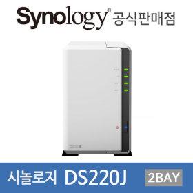 시놀로지 DS220J 아이언울프HDD 포함 4TB (2TBx2)