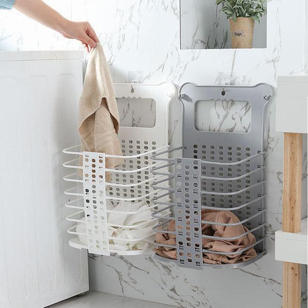 LINE 접이식 빨래 바구니 세탁 보관함 빨래함 상품이미지