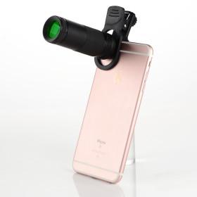8x20 휴대용 미니망원경/콘서트 단망경 스마트폰망원