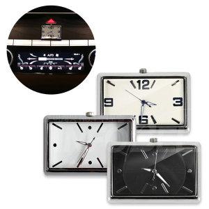 뉴트로 카업 시계 차량용 인테리어 아날로그시계