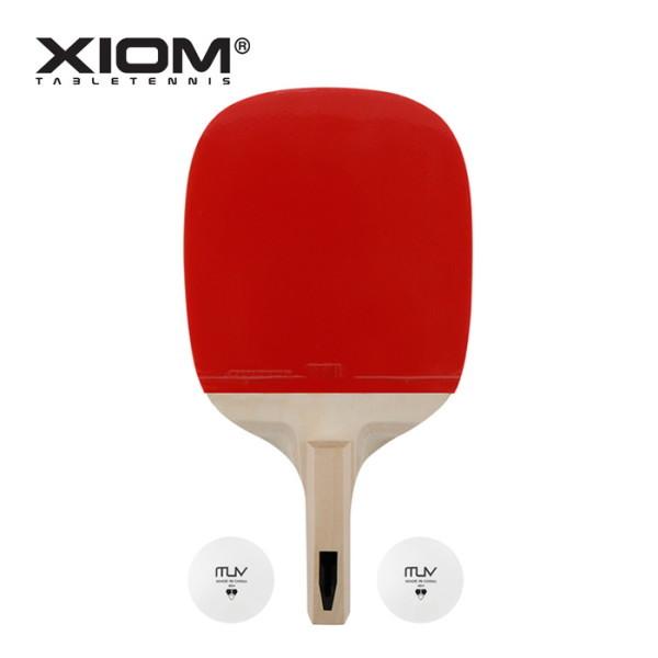 엑시옴  ZETA 2.3P 탁구라켓(펜홀더) 탁구채 공 포함 상품이미지