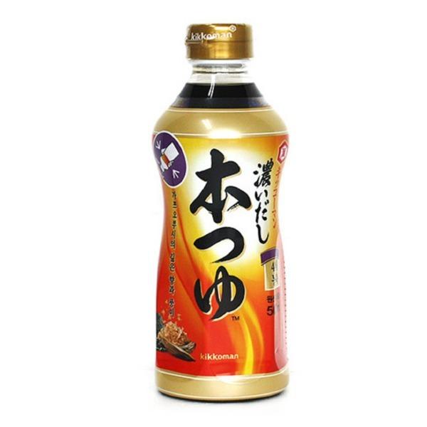 기꼬만 4배농축 혼쯔유 500ML 맛있는 일본식 간장 상품이미지