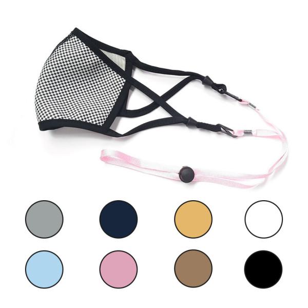 아르세 마스크 분실방지 목걸이 (스토퍼 포함) 블랙 상품이미지