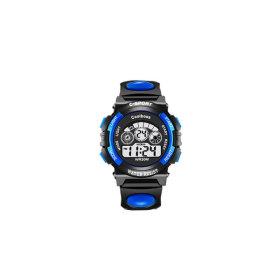 스포츠시계 학생전자 손목시계 알람스톱워치(블루)