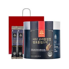 고려홍삼중앙회 6년근고려홍삼정 발효 홍삼스틱 100포