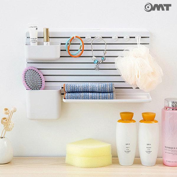 OMT 벽부착 수납 정리 타공판 선반 욕실용품 OB-YW29B 상품이미지