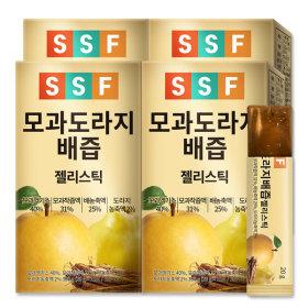 모과 도라지배즙 젤리 스틱 4박스(60포)