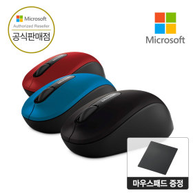 Microsoft 블루투스 모바일 무선마우스 3600 국내정품