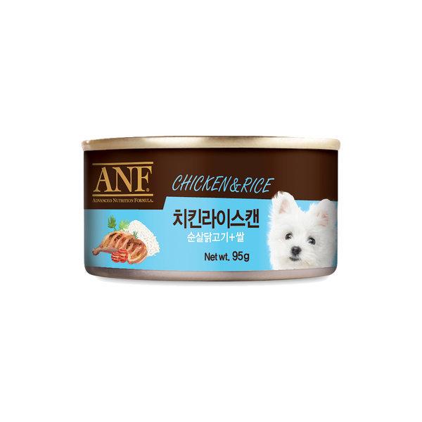 ANF 강아지 치킨 라이스 캔 95g x 24개 1박스 상품이미지