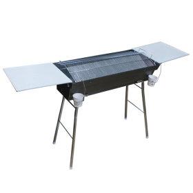 기름방지화로 스탠드 테이블형 그릴 석쇠 세트 대형