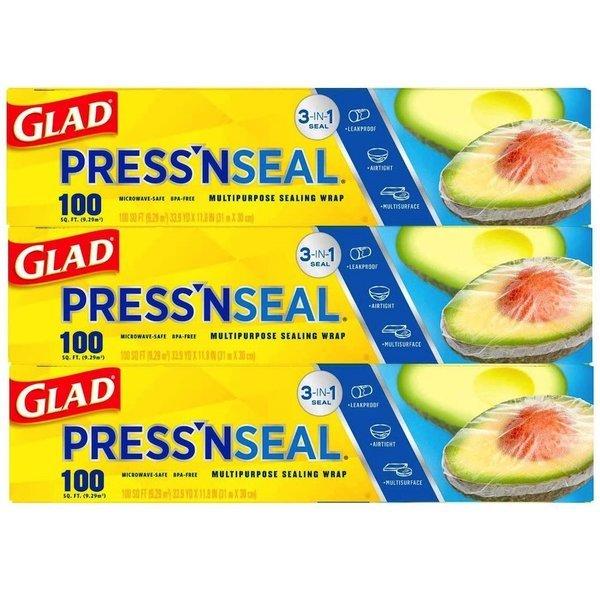 글래드 매직 비닐랩 3팩 Glad Pressn Seal Food Wrap 상품이미지