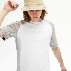 남성 피케 크루넥 티셔츠 LCST TH5017-20BTRY