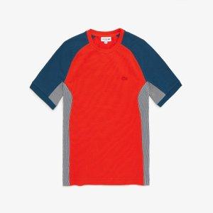 남성 피케 크루넥 티셔츠 LCST TH5017-20BWJZ