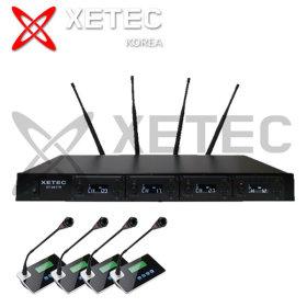 마이크 4채널 무선마이크시스템 XT-9417R 4G 구즈넥