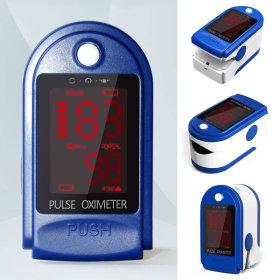 산소포화도 측정기 맥박 건강 관리 용품 (블루)
