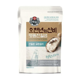오천년의 신비 명품 천일염(굵은입자)1kg/소금/천일염
