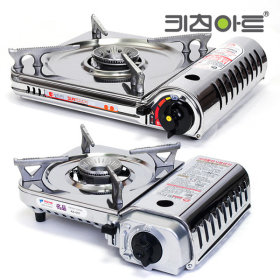[Kitchen-Art] Portable gas stove / 1-burner / stainless steel / camping stove /