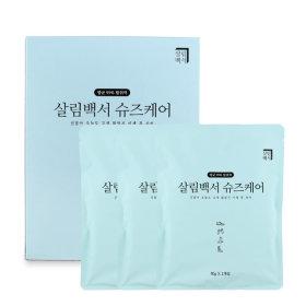 살림백서 신발탈취제 신발냄새제거제 냄새탈취제 1BOX