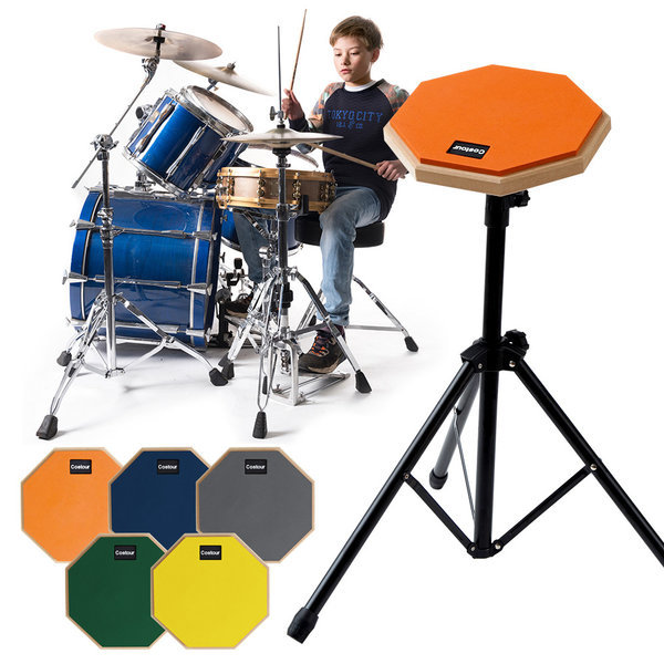 연습용 드럼패드 드럼매트 드럼 페드 연습셋트  8인치 상품이미지