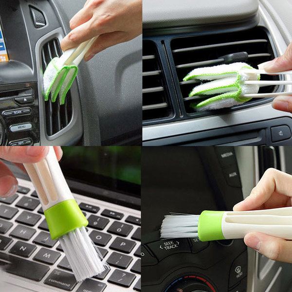 자동차 틈새 청소솔 카시트 틈새쿠션 키보드 청소 상품이미지