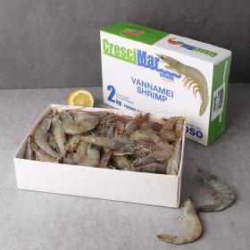흰다리새우 에콰도르 _box 2kg