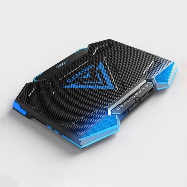 노트북 쿨러 거치대 받침대 받침패드 17.3인치 블루 상품이미지
