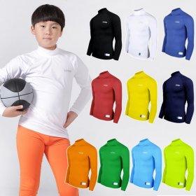 엑스프린 유소년 사계절 긴팔 스포츠 이너웨어 기능성 티셔츠