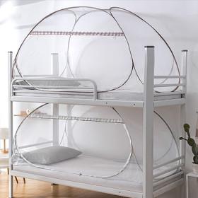 원터치 사각 2층 이층 침대 텐트 모기장 아기 모기장