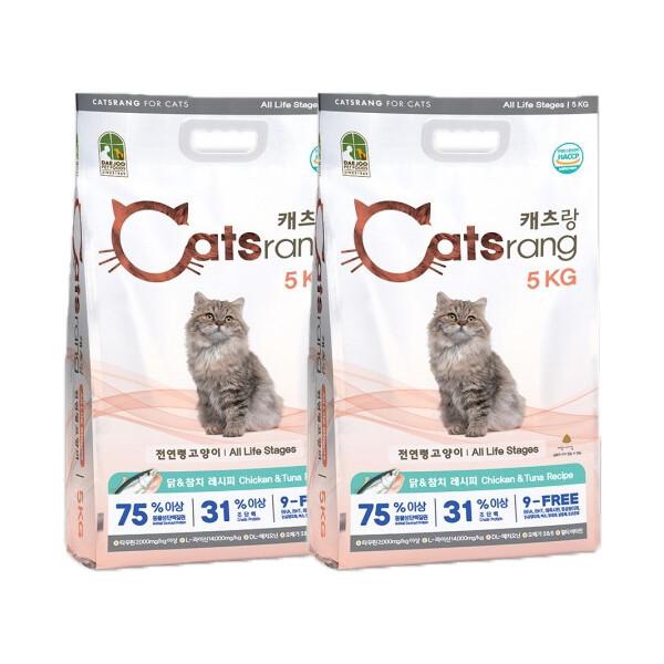 캣츠랑 전연령  10kg(5kg x 2개)고양이사료 상품이미지