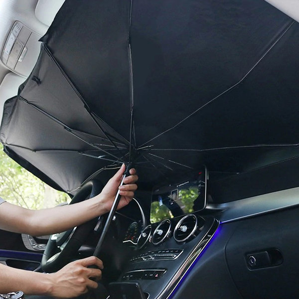 아르세 차량용 사생활 보호 + 햇빛가리개 우산형 (M) 상품이미지