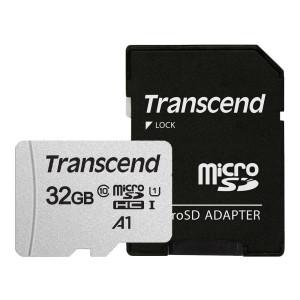 트랜센드 300S-A 마이크로SD카드 32GB/어댑터포함