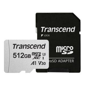 트랜센드 300S-A 마이크로SD카드 512GB/어댑터포함
